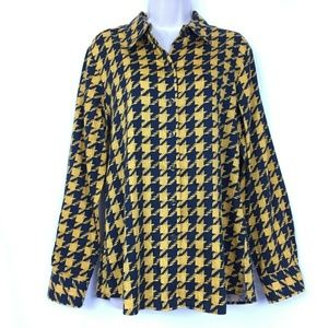 Foxcroft 12 Blouse Wrinkle Free Shaped Fit Top